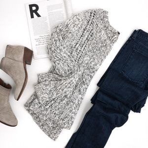 FREE People . Cable Knit Sweater